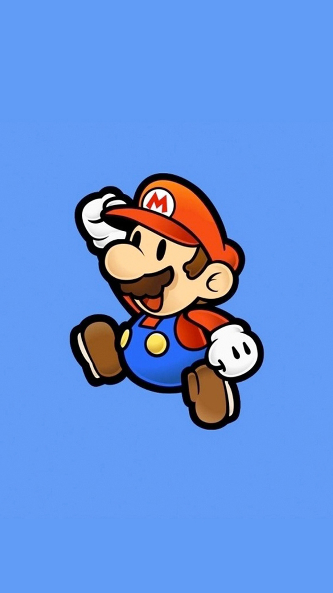 super mario iphone wallpaper jump