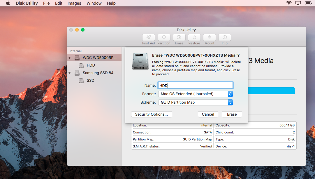 How to move your Mac user folder to a separate drive from