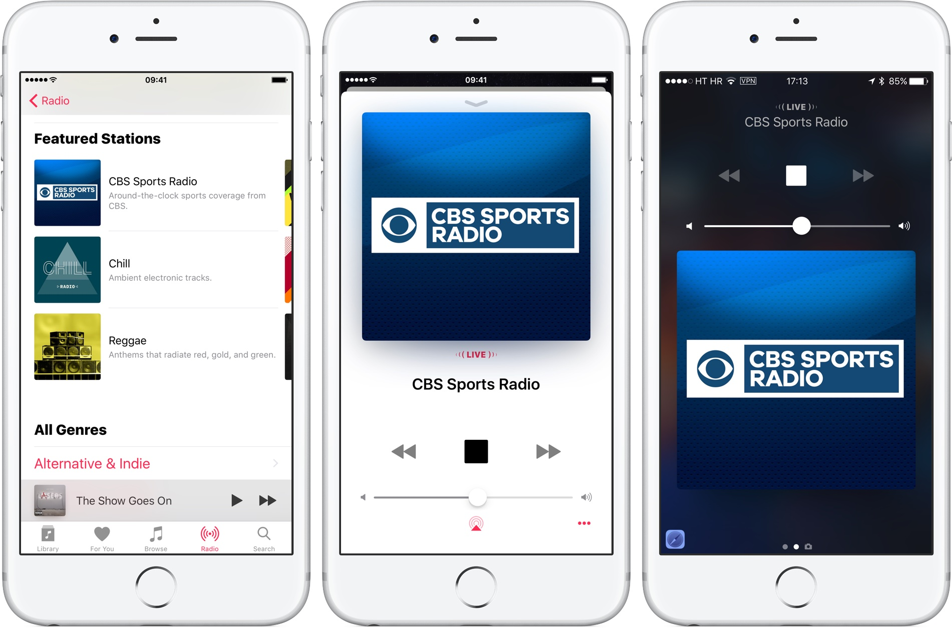 Cbs Sports Radio Now Available On Apple Music