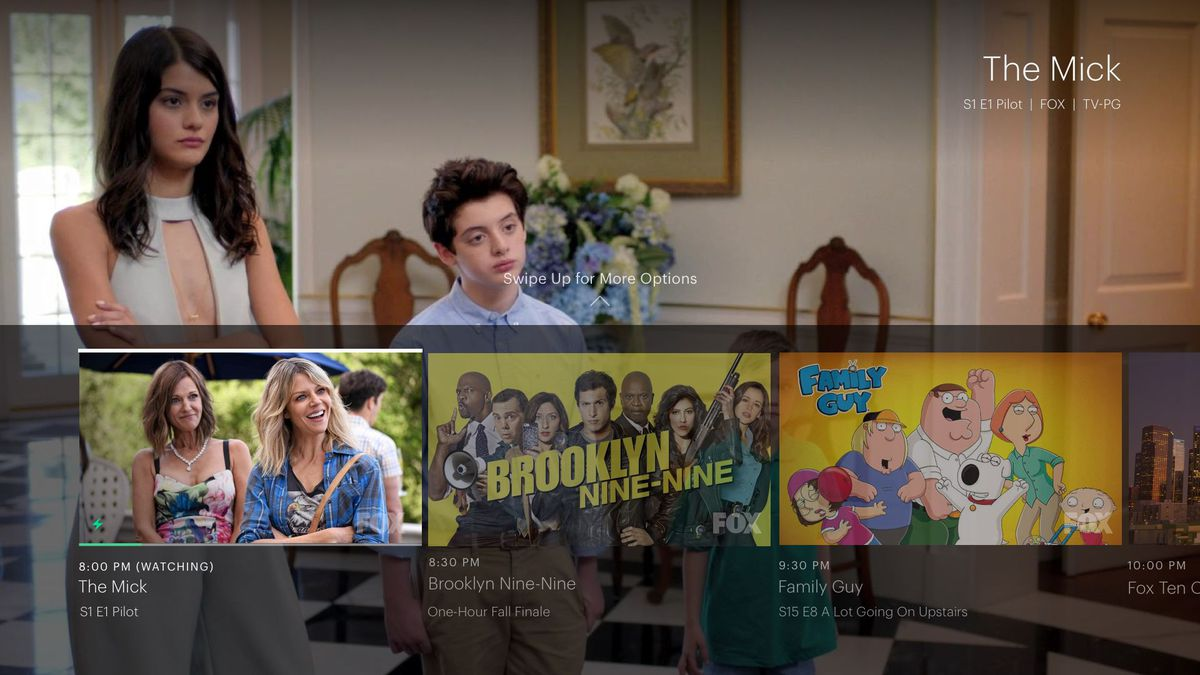 Hulu live TV service Apple TV Screenshot 001
