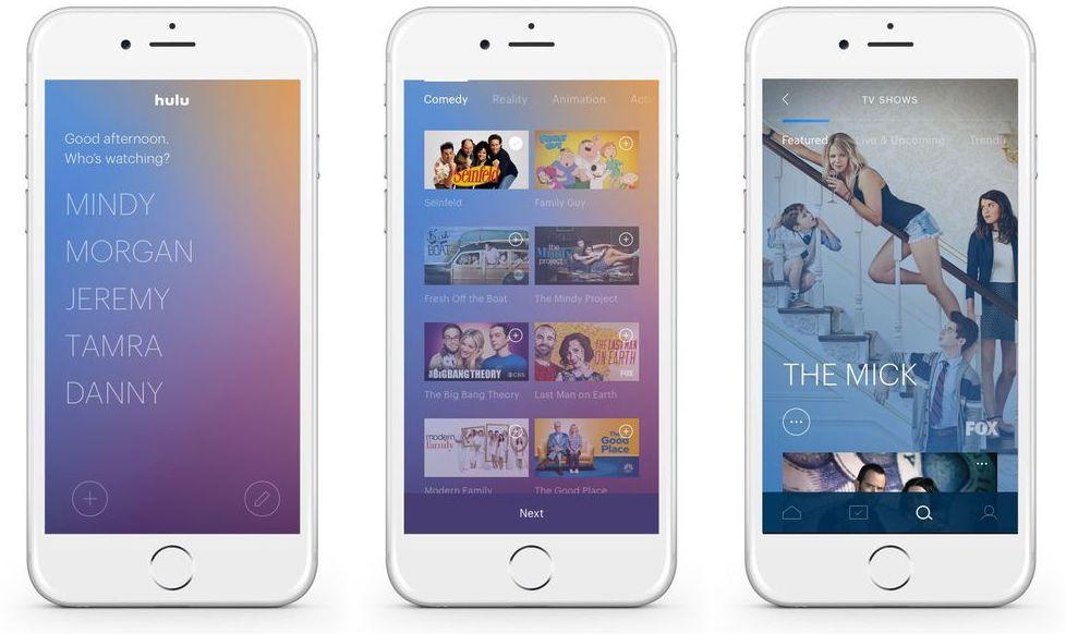 Hulu live TV service iPhone Screenshot 001
