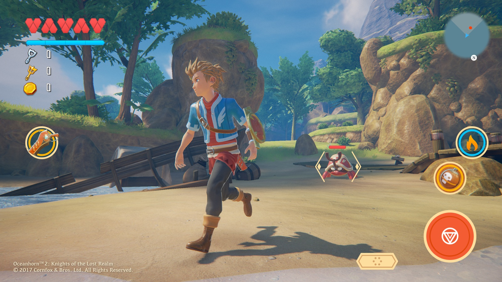 Oceanhorn 2 confirmed to use Unreal 4 engine, first