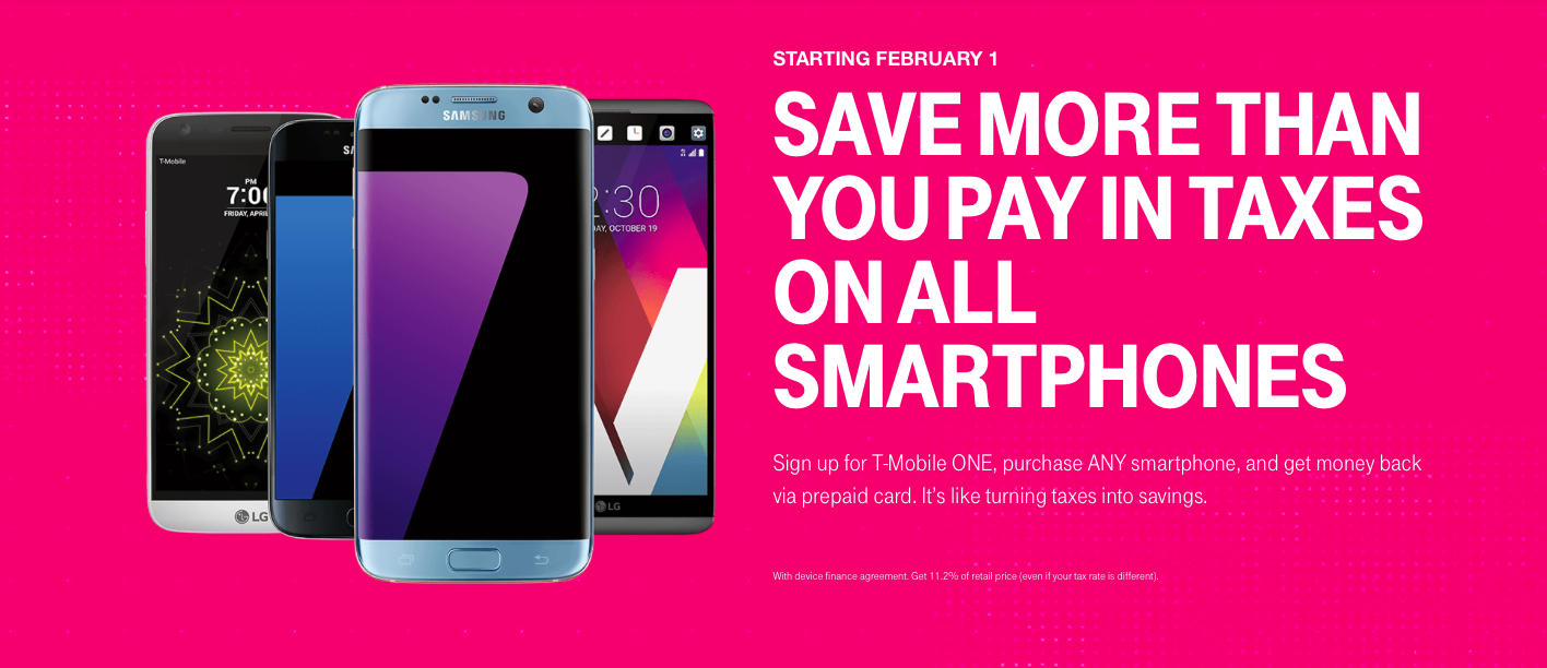t mobile to offer prepaid mastercard with new smartphone purchases beginning february 1 - Mastercard Prepaid Card