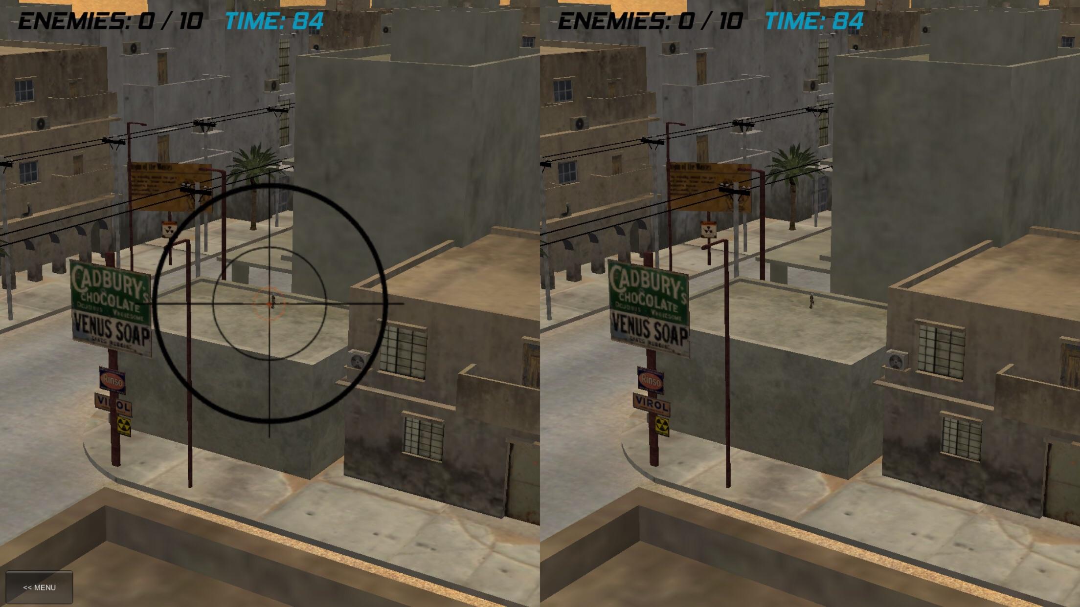 VR Sniper gameplay