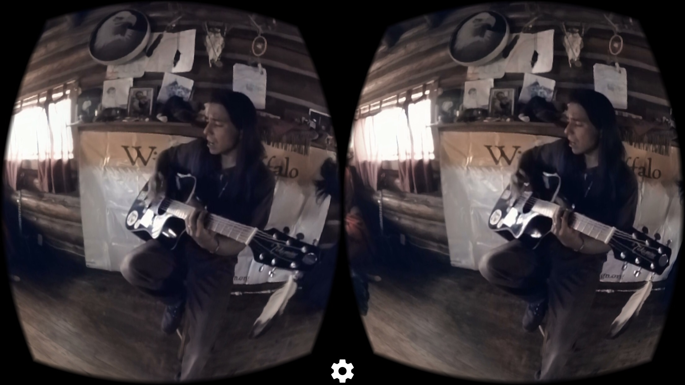 Within VR app