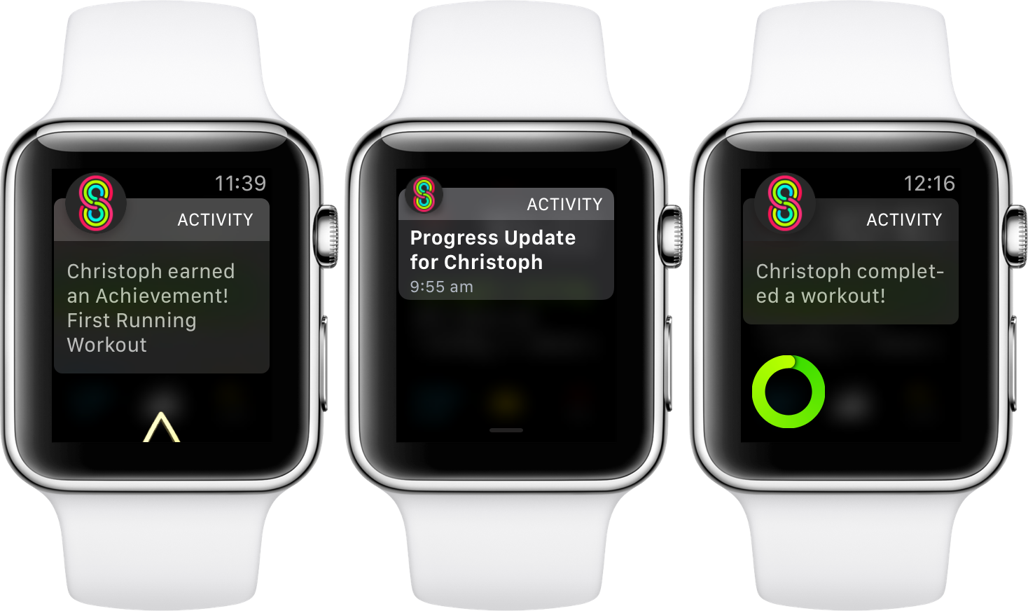 activity sharing apple watch