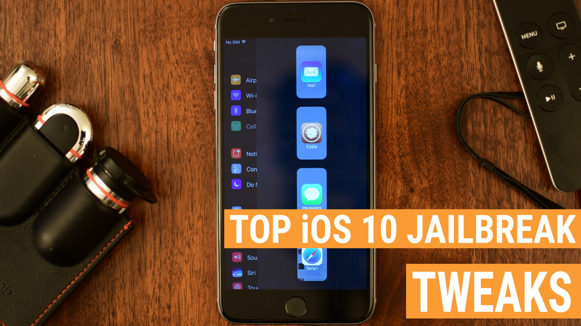 The best iOS 10 jailbreak tweaks