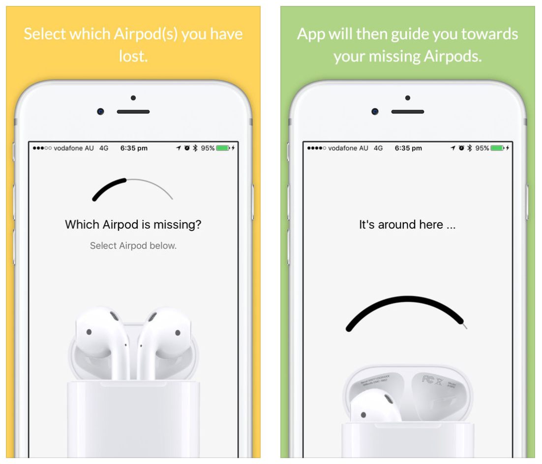 low priced 46c98 cf1df This app helps you find your lost AirPods