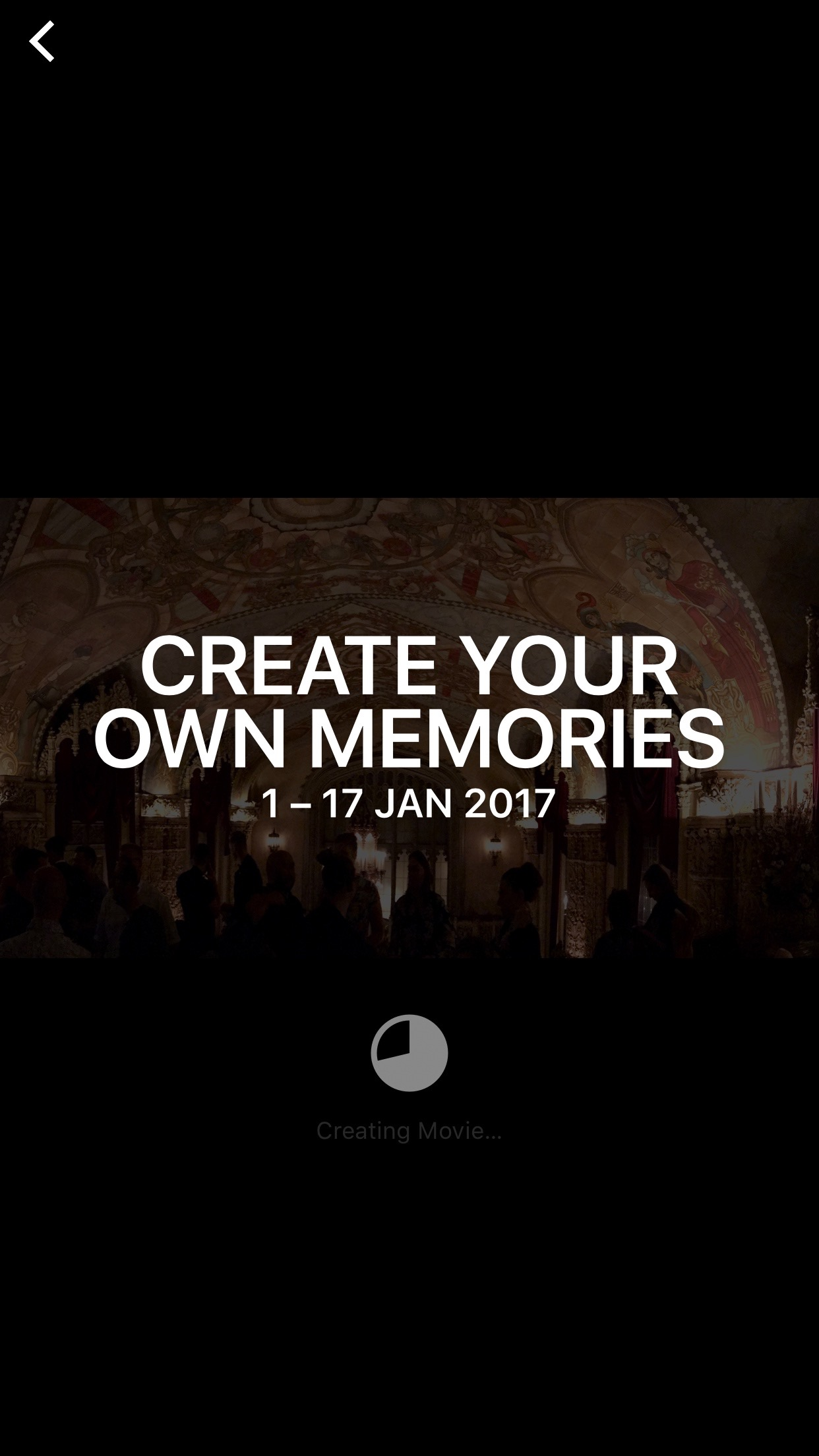 Play your create Memories
