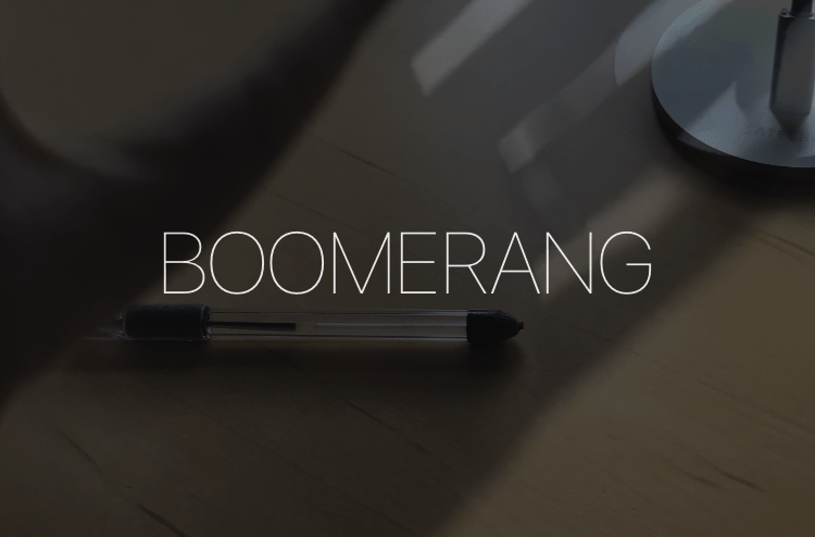 Add boomerang to instagram story