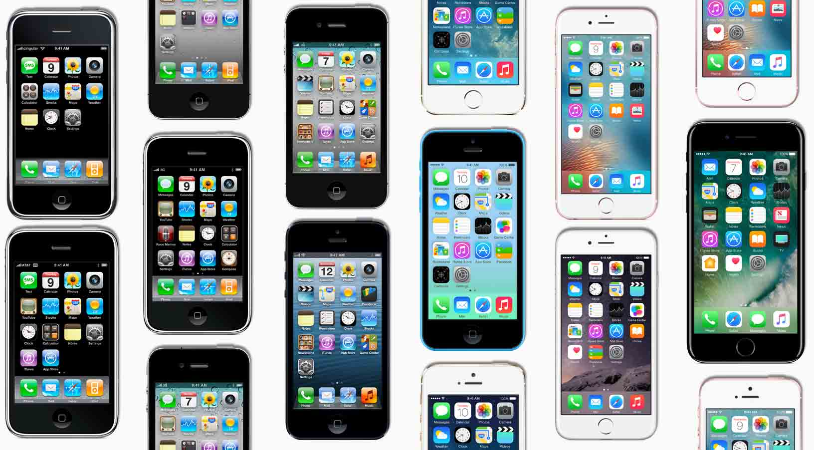apple celebrates 10 year anniversary of first iphone unveiling