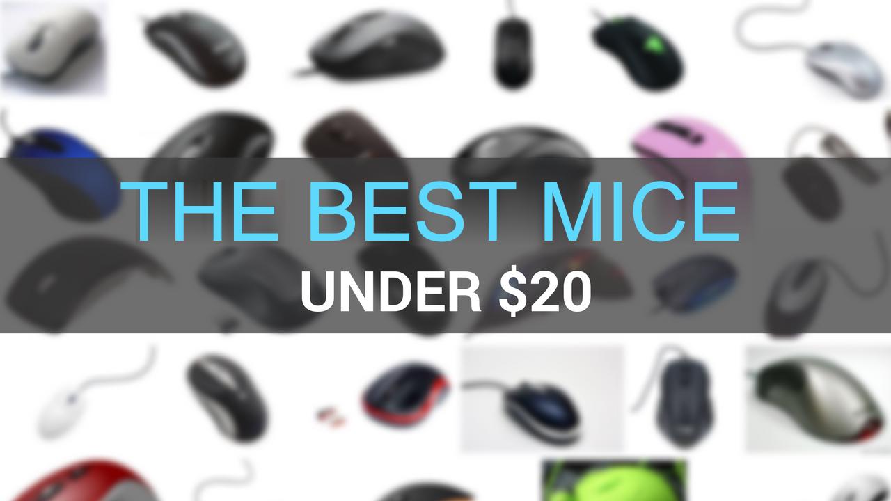 best mice under $20