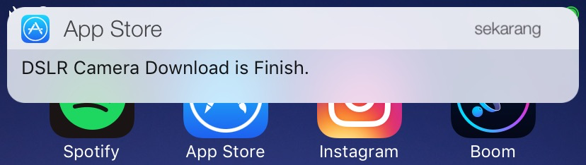 App Percent displays a percentage for app downloads and alerts you
