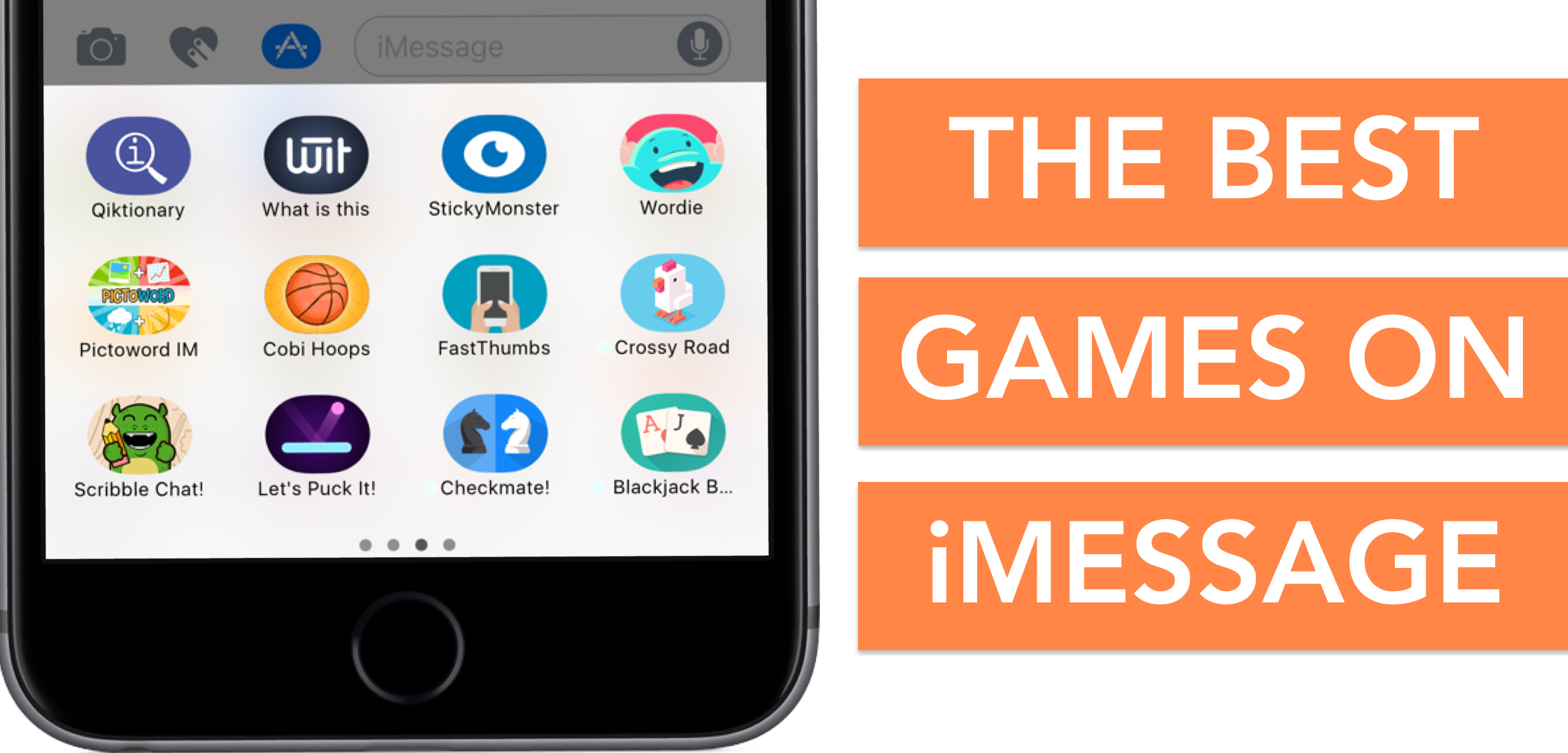 The best iMessage games