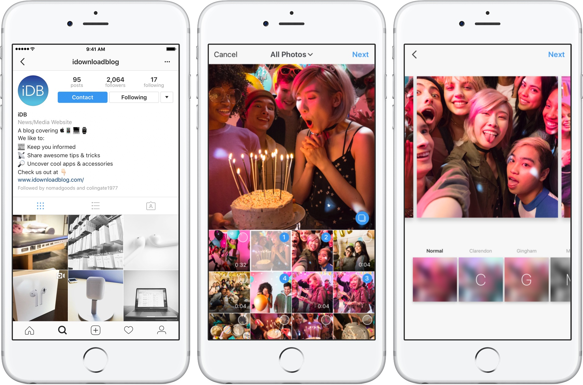 You can now share multiple photos and videos in one ...