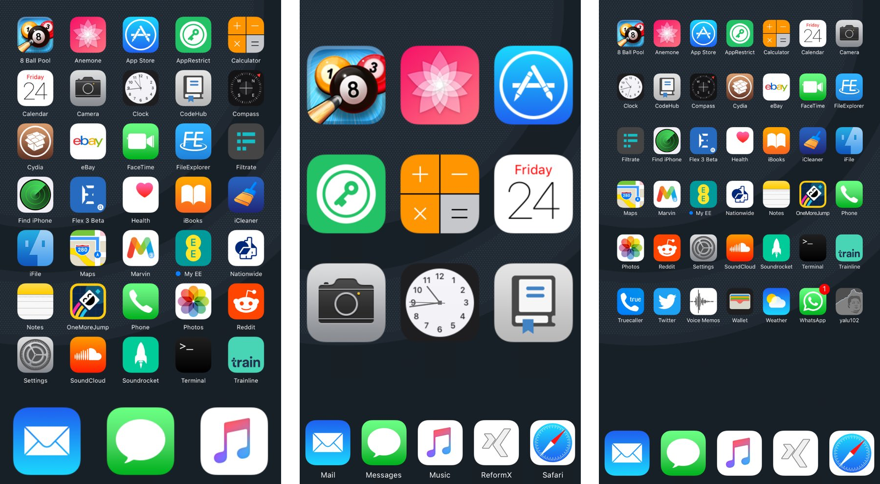 Reformx customize your home screen layout and more for Customize your home