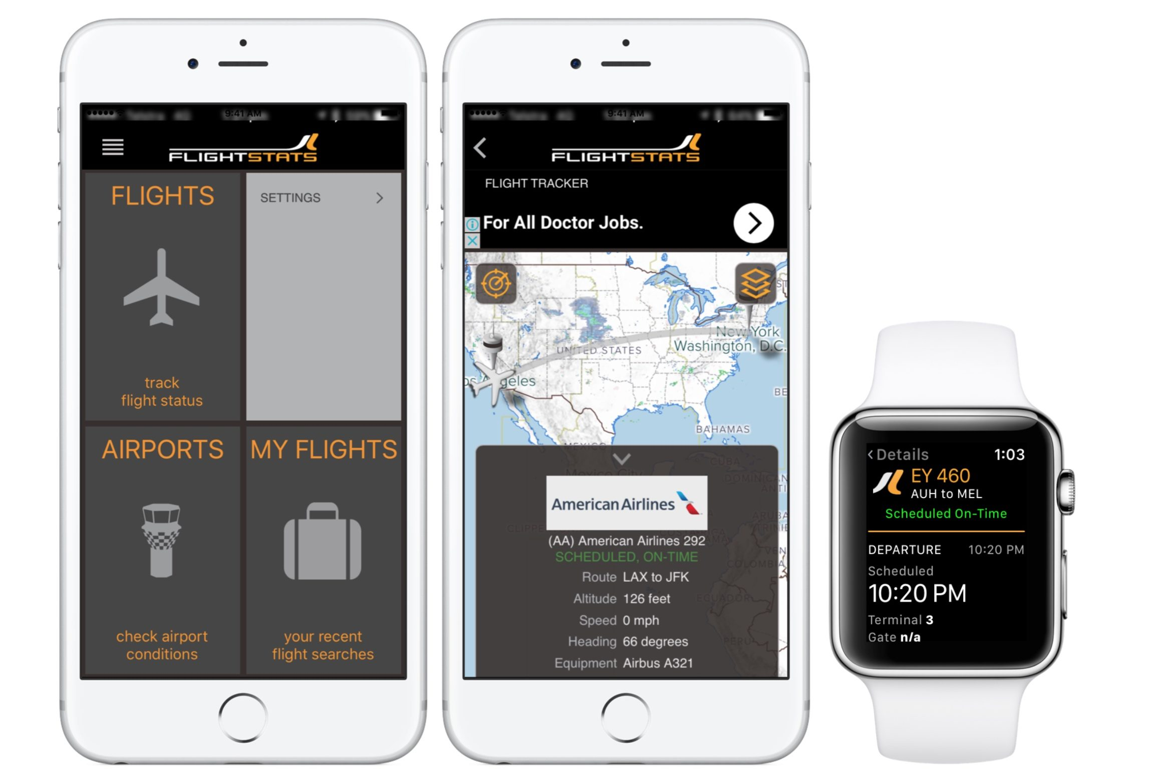 flight tracker apps for iphone - flightstats