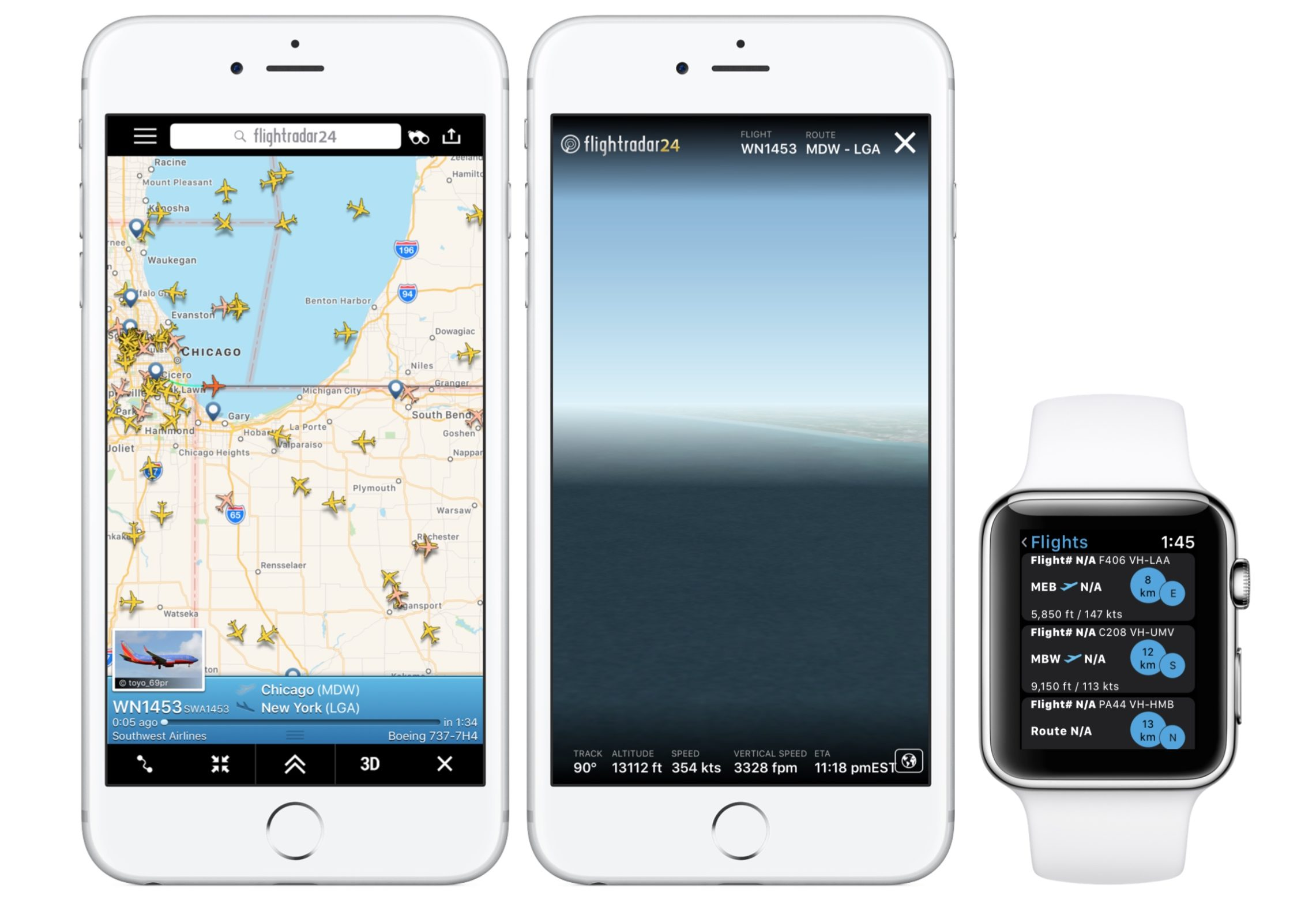 flight tracker apps for iphone - flightradar24