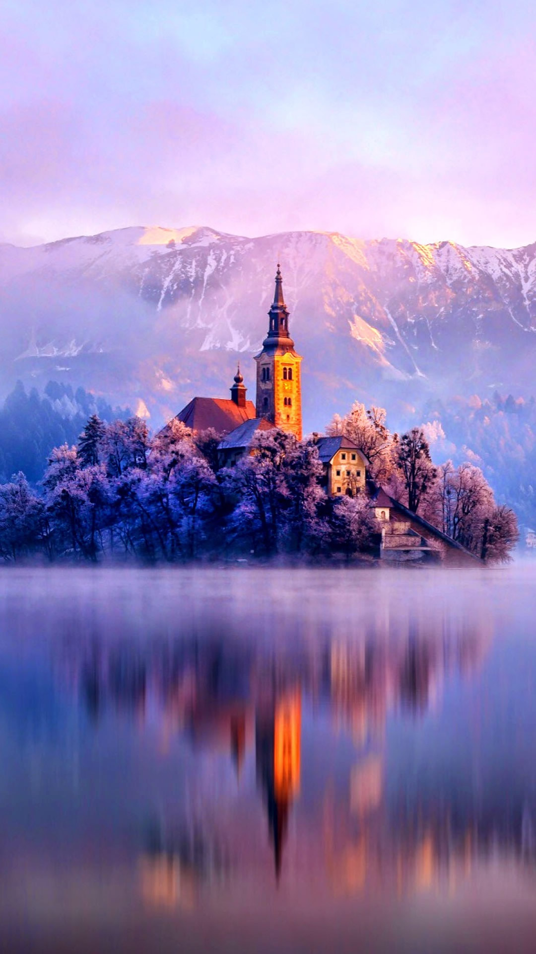 美しい冬景色のiphone用壁紙 5枚 噂のappleフリークス