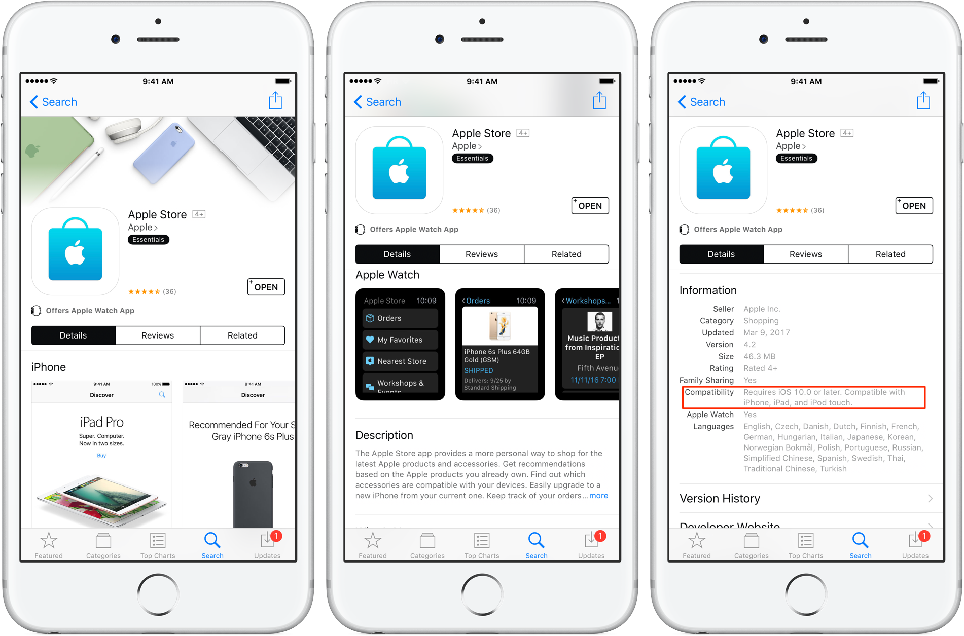 shopping apps for iphone apple shopping app now requires ios 10 16117