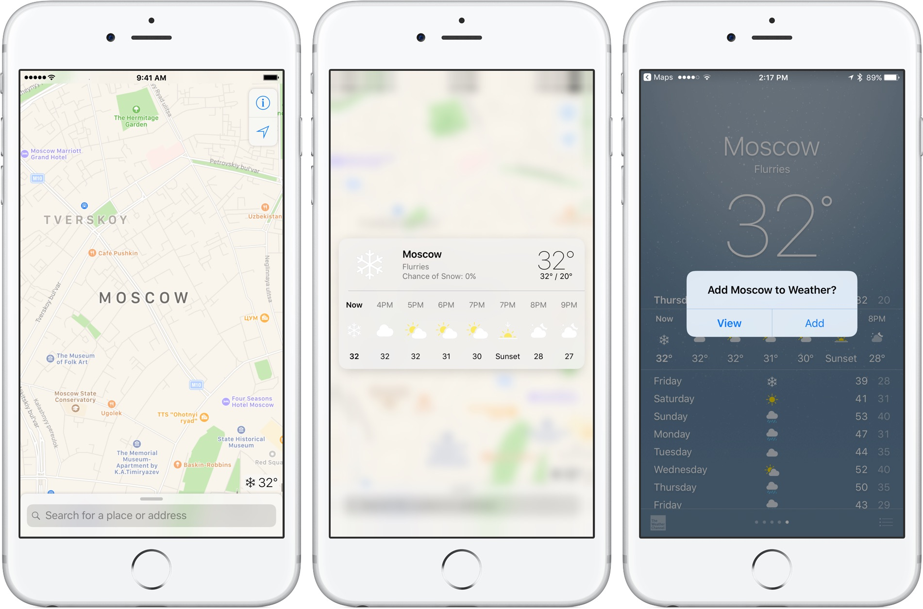 How To Display Hourly Weather Forecast For Your Destination On Apple