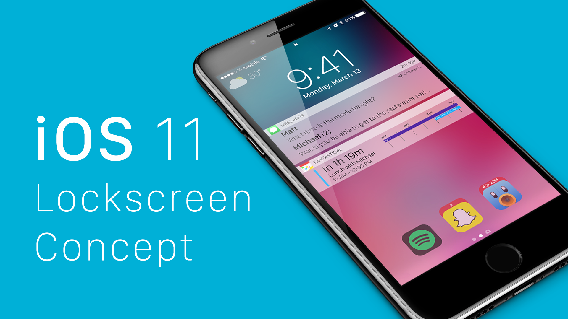 This Cool IOS 11 Concept Would Bring More Power To Your