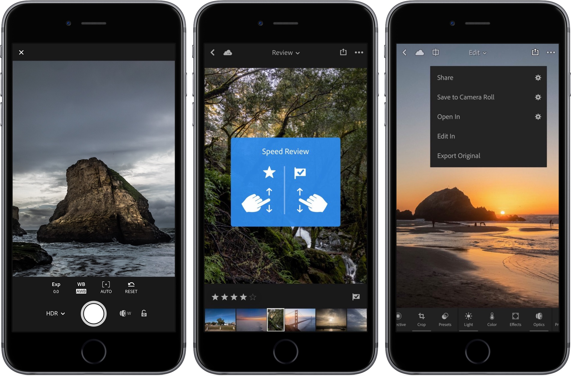 Adobe brings HDR RAW capture to Lightroom for iPhone and iPad