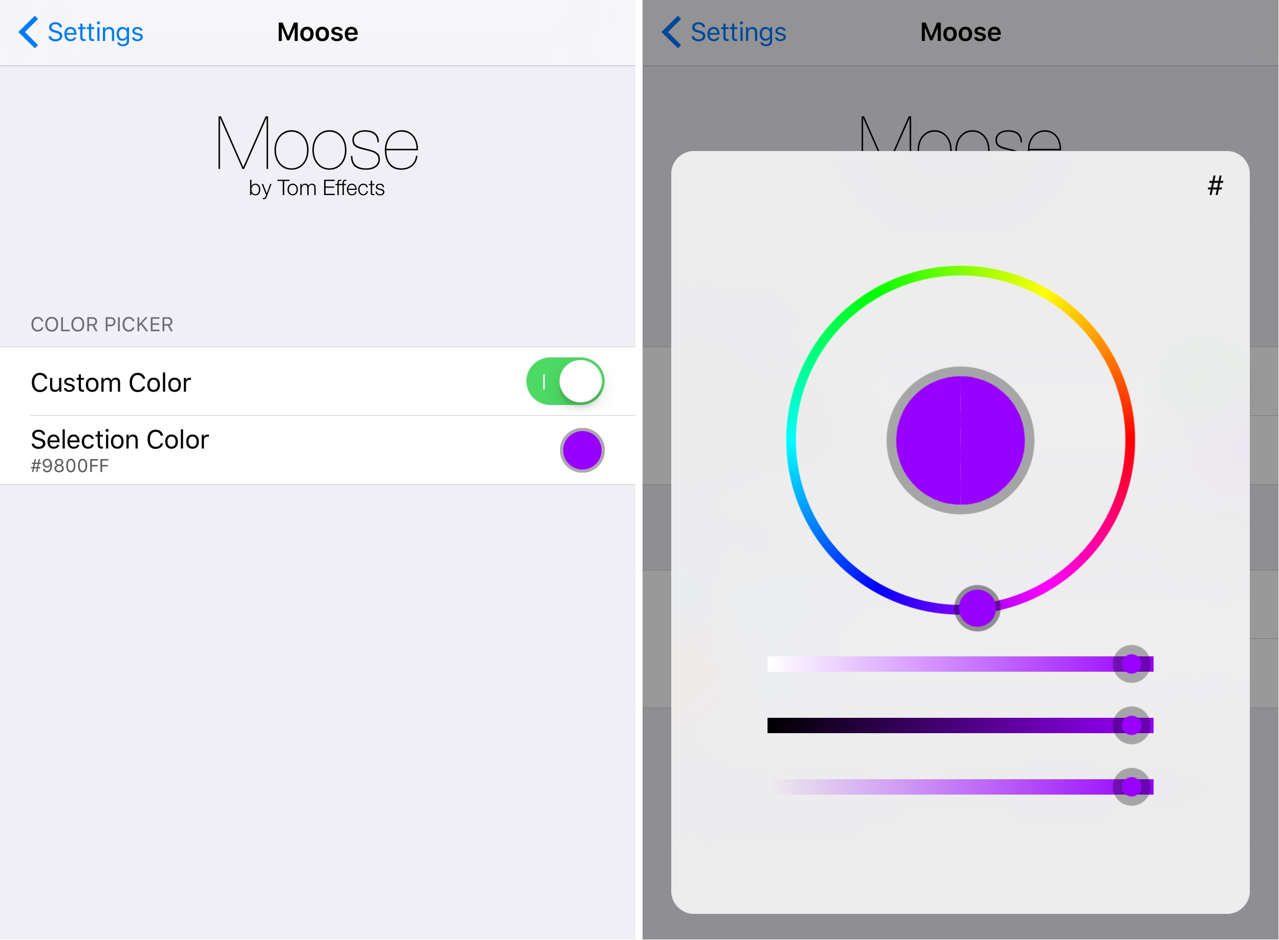 Colorize your iPhone's cursor and text selection tools with