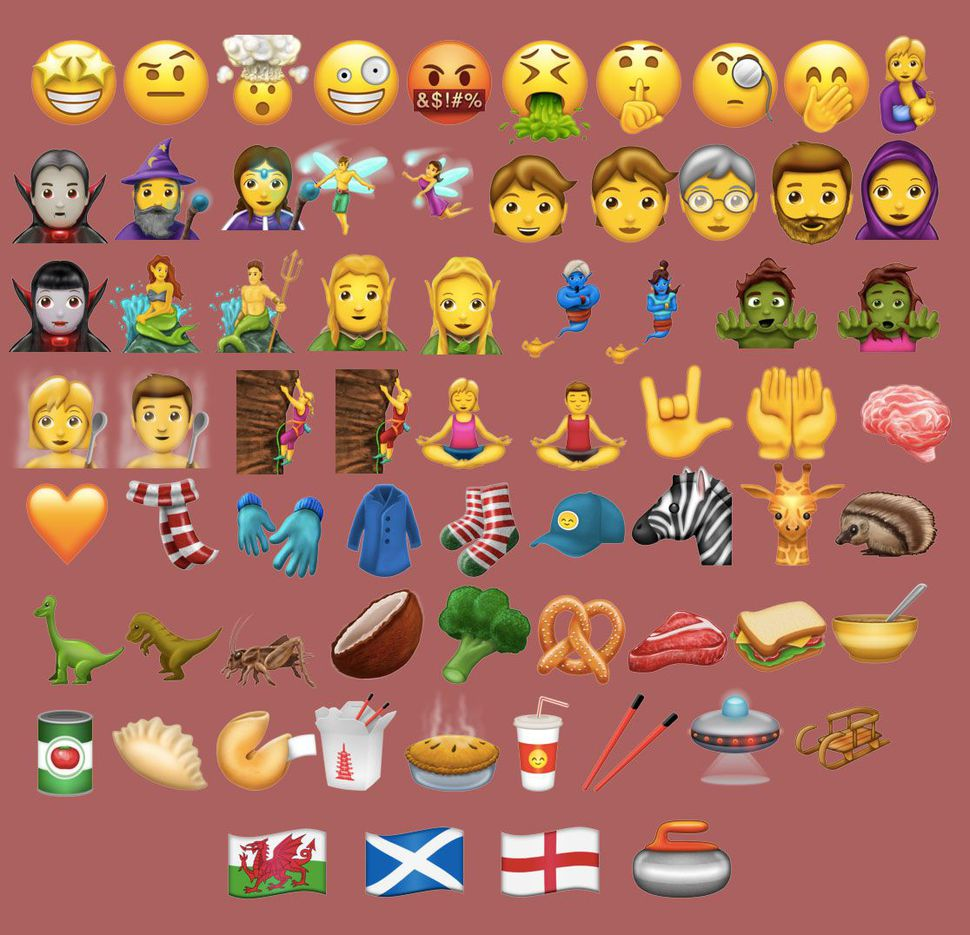 69 new emoji coming this summer, including shush face, T-Rex, fortune cookie & more