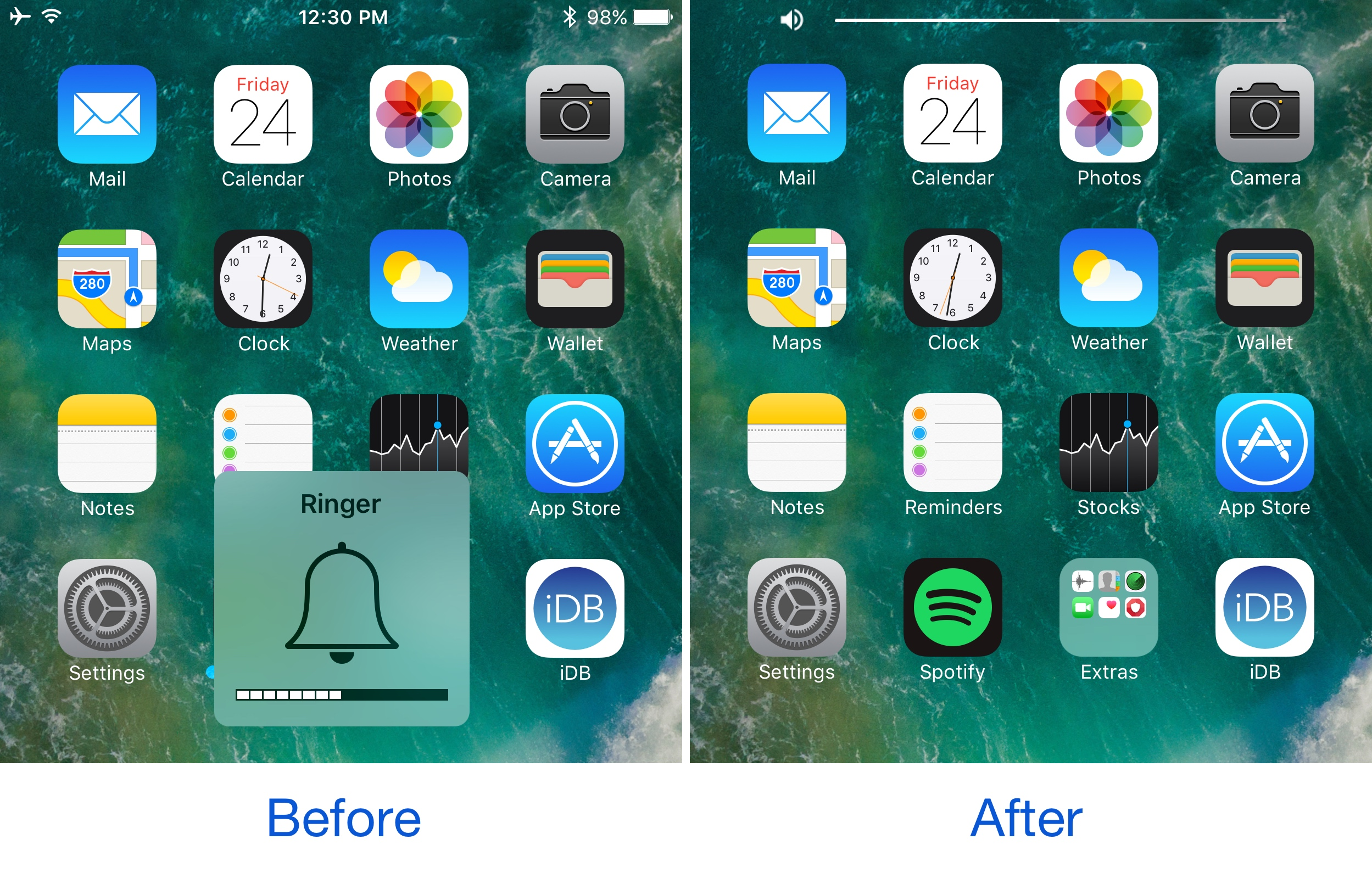 The best jailbreak tweaks for the Volume HUD