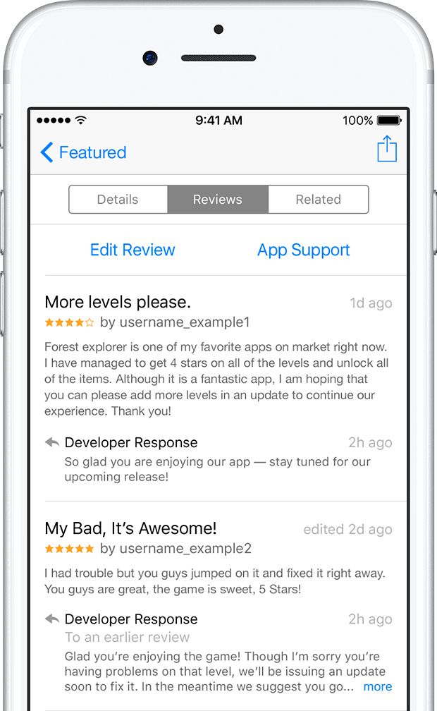 A closer look at iOS 10.3's streamlined App Store ratings and ...