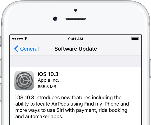 Apple releases iOS 10.3 with Find My AirPods and other new features
