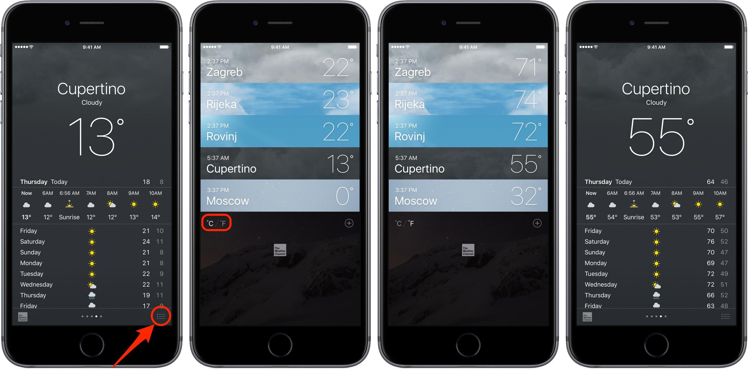Iphone App Temperature Inside