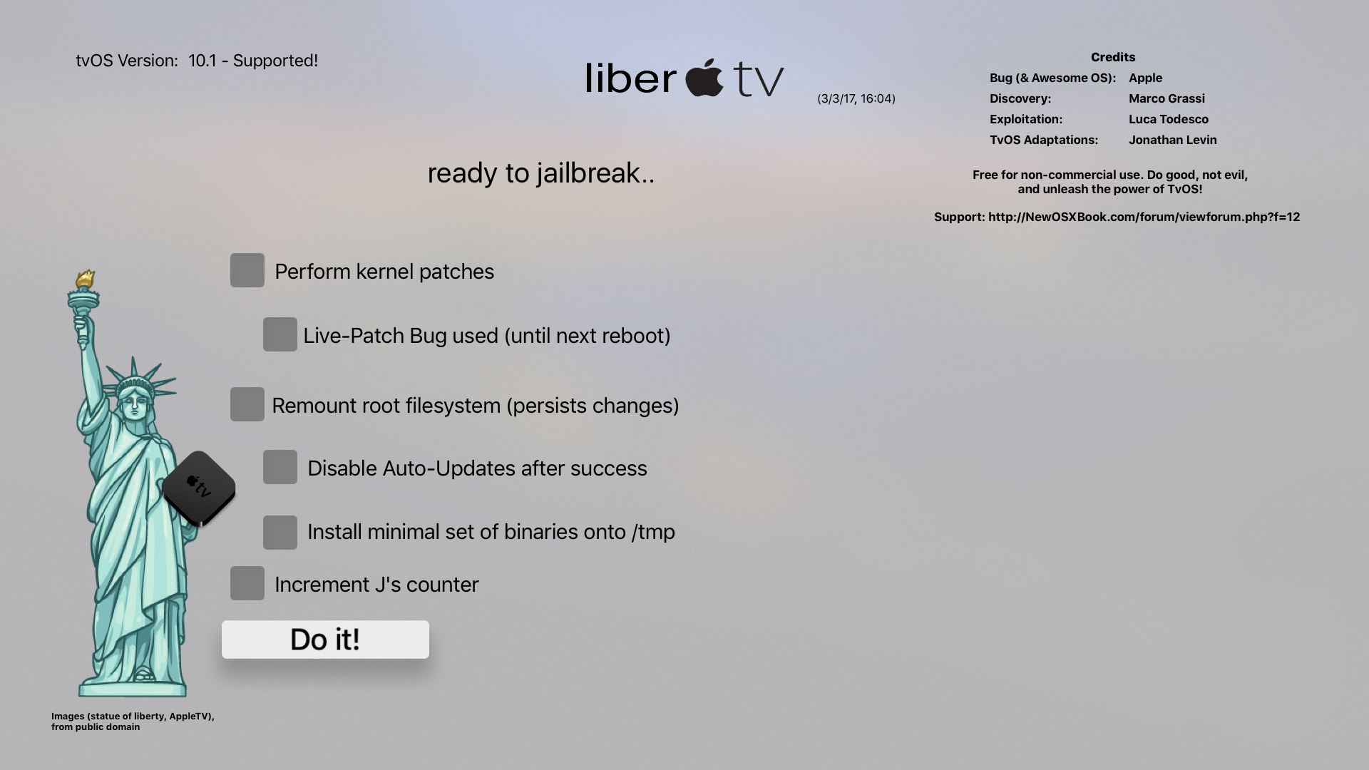 jailbreak Apple TV 4 liberTV