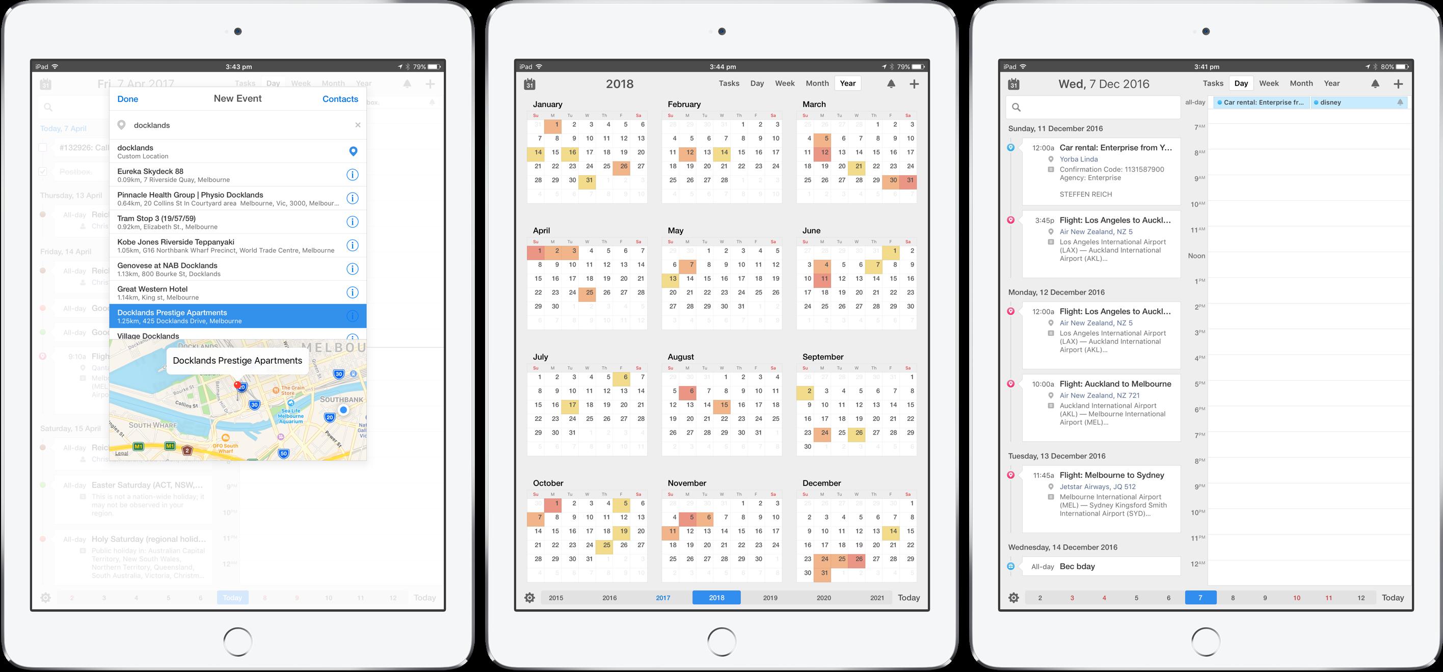 Calendars 5 for iPad