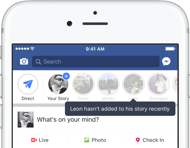 Facebook is turning your friends who aren't hip enough to use Stories into ghosts