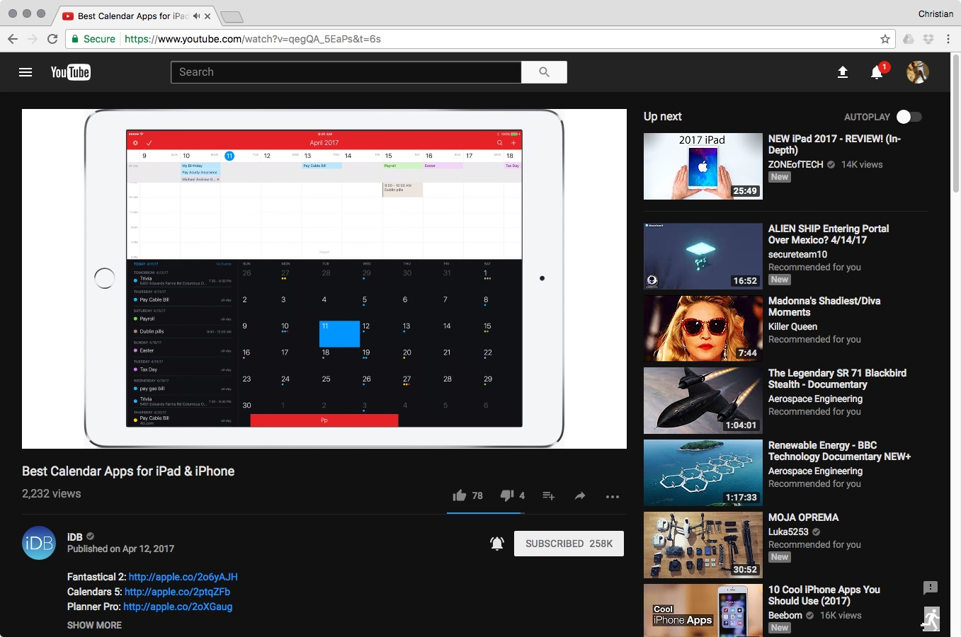 dark mode on youtube