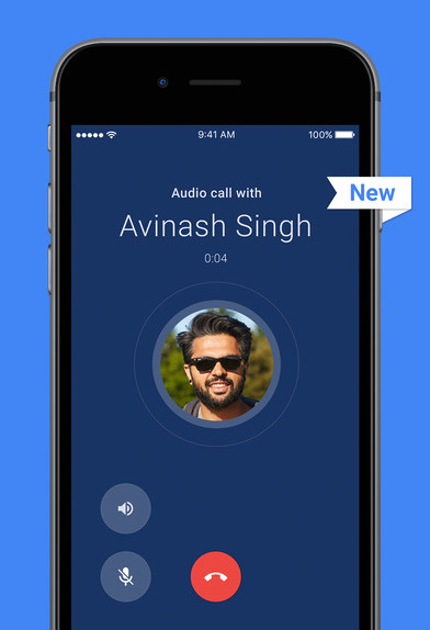 Audio-only calls rolling on Google Duo