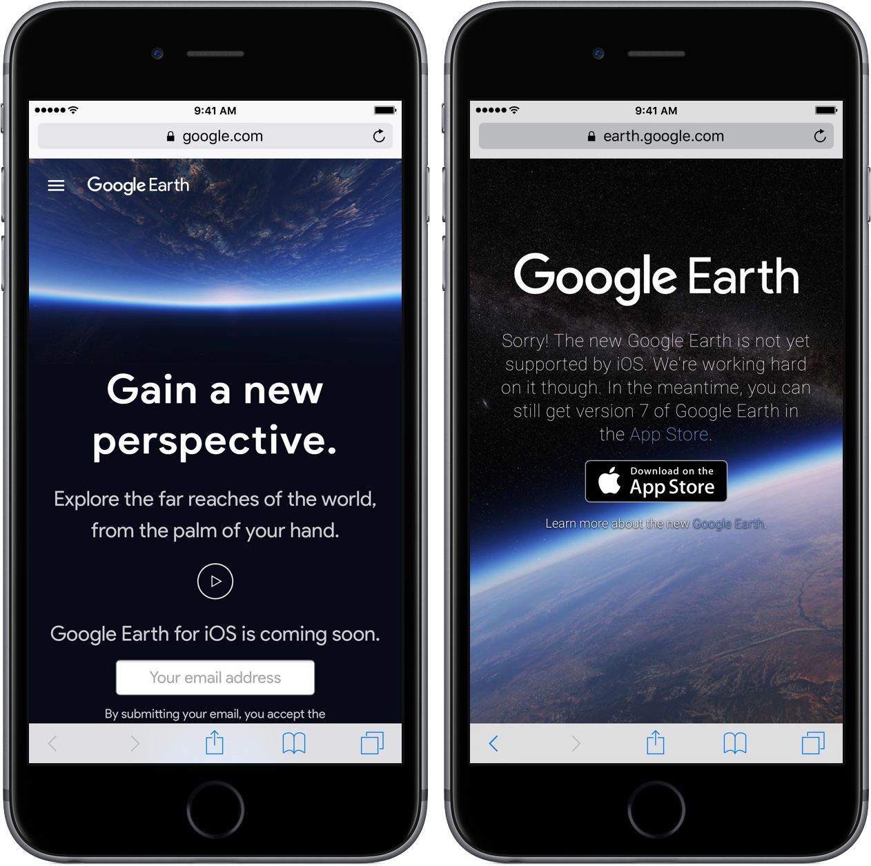 Overhauled Google Earth experience launches on the web, iOS