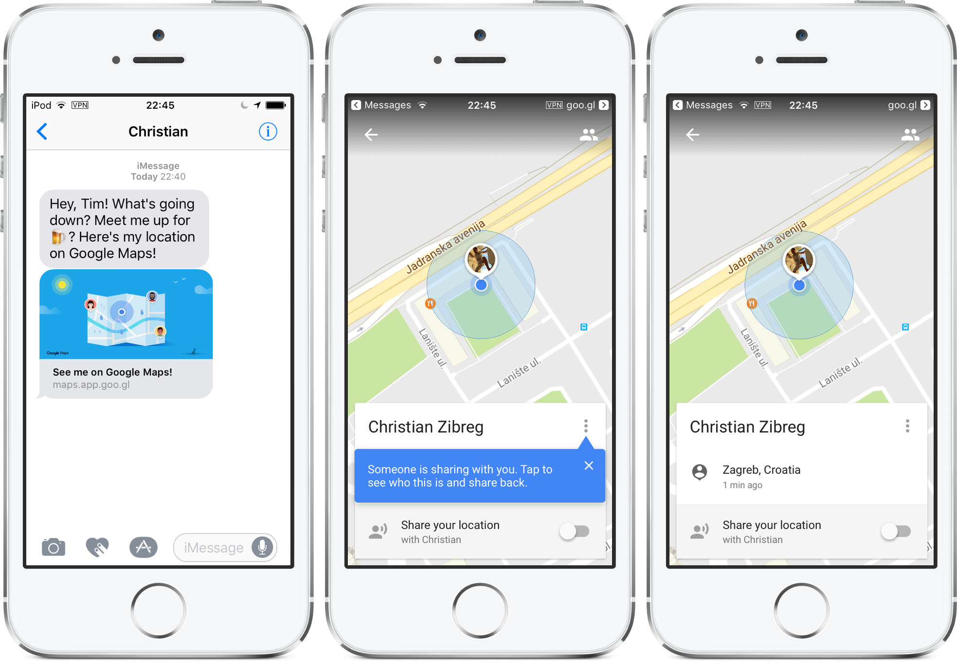 how to send my location on iphone how to your real time location on maps 20303
