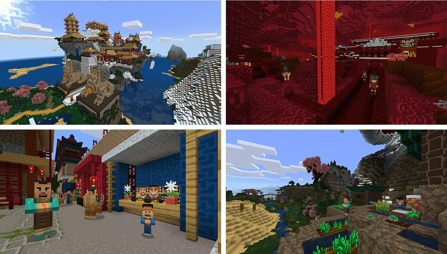 Minecraft: Pocket Edition gains Chinese Mythology mashup pack