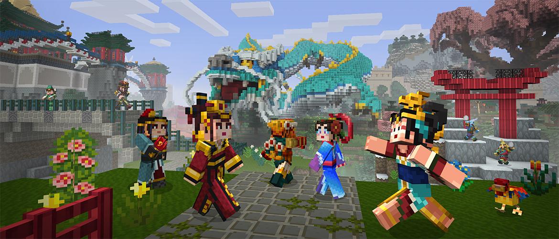 Minecraft: Pocket Edition gains Chinese Mythology mashup