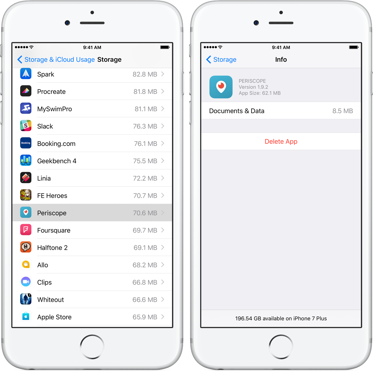 Tip: save storage space on your iPhone and iPad by clearing