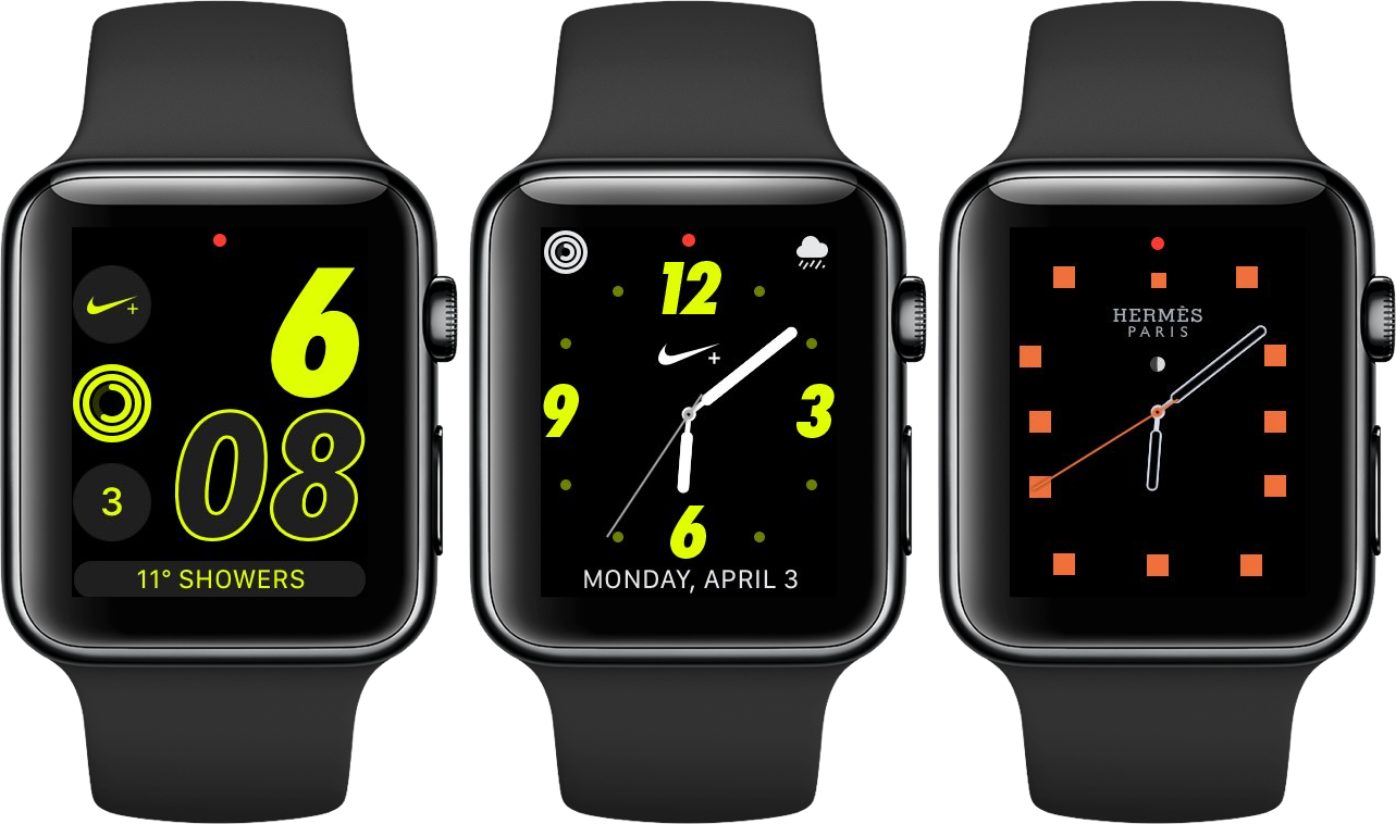 low priced 49ba4 116dd How to get the Hermès and Nike watch faces on Apple Watch