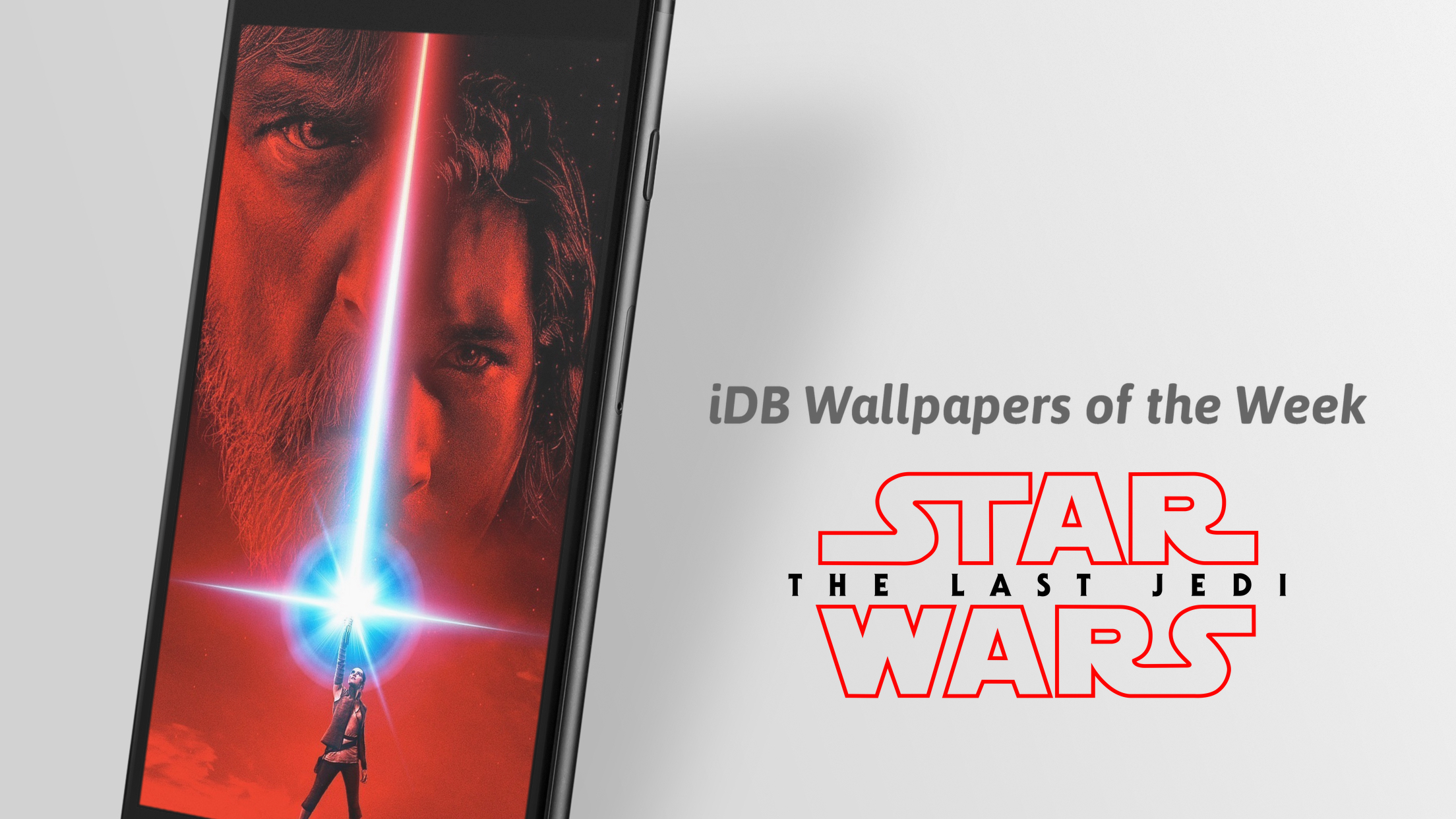 iDownloadBlog Star Wars The Last Jedi Wallpaper of the Week Splash