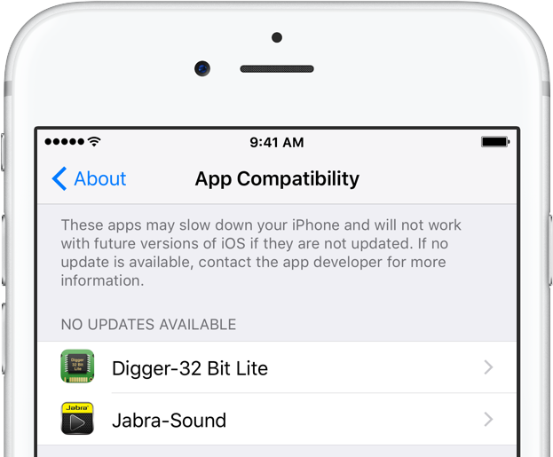 How to identify 32-bit apps on your iPhone and iPad