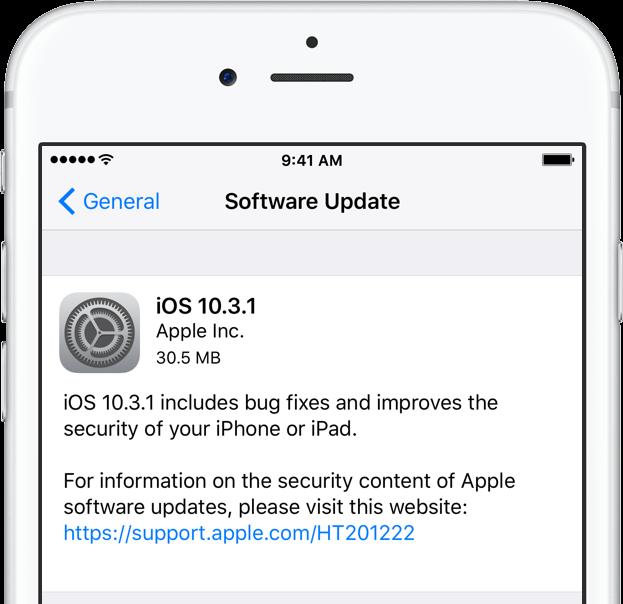 iphone yazılım güncelleme wifi