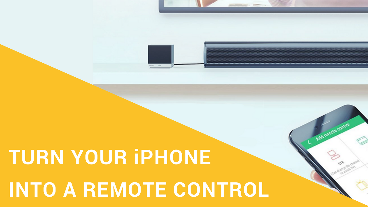 Accessories that turn your iPhone into a universal remote