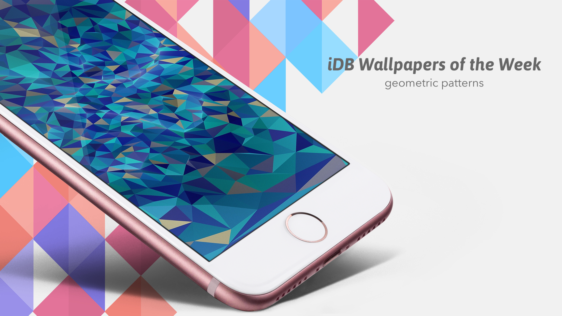 geometric pattern wallpapers iphone