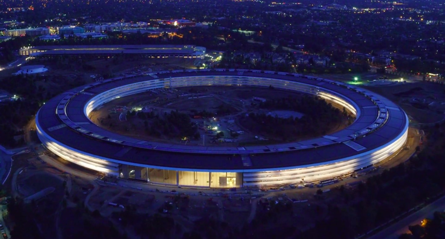 Check Out Breathtaking Aerial Views Of Apple Park Building
